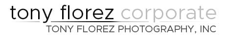 California Corporate Photography | Tony Florez Photography Logo